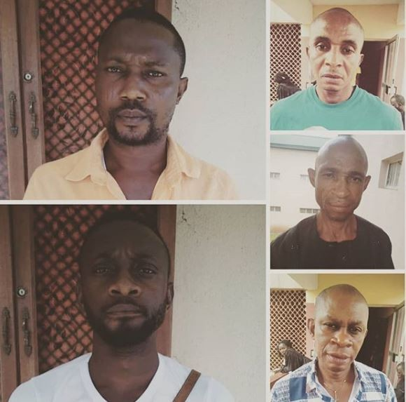 Photo: Five fraudsters bag jail term In Edo State