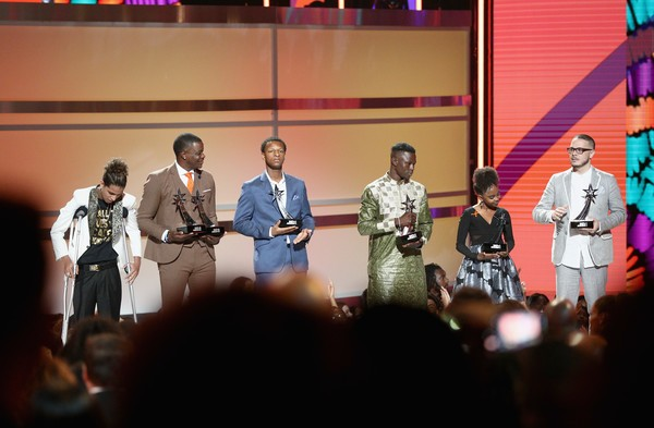 """Malian Spiderman"" who scaled building to save child in France honoured at BET Awards (Photos)"