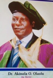 Rector of Igbajo Polytechnic, Osun State arrested by ICPC for alleged forgery of PhD certificate