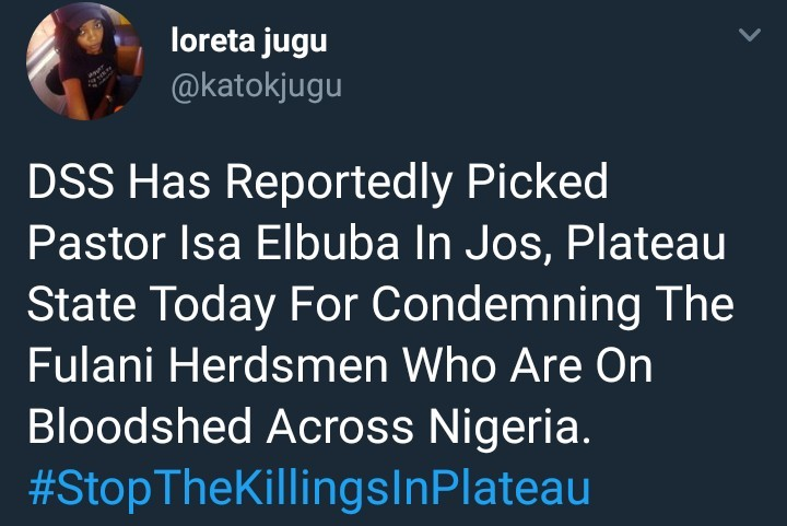 DSS alledgedly arrest Prophet Isa El Buba after he shared a video of himself condemning government