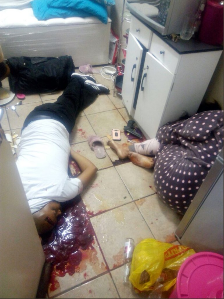 South African man kills his cheating wife then turns the gun on himself (graphic photos)
