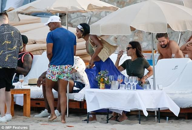 Gabrielle Union shows off her hot bikini body as she hits the beach with husband Dwayne Wade in Ibiza (Photos)