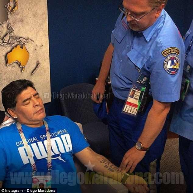 Football legend Diego Maradona offers ?8,000 to find the man who said he was dead!