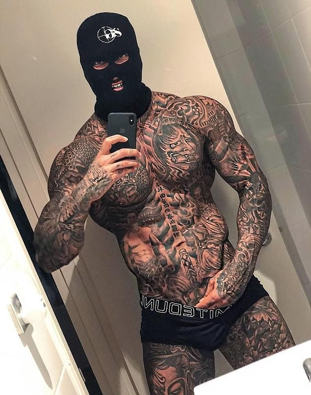 Meet the heavily-tattooed Instagram-famous