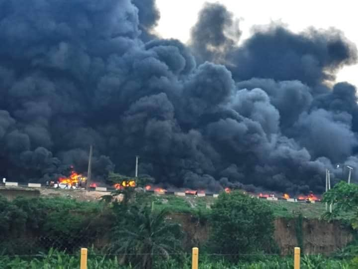 FRSC says 9 bodies burnt beyond recognition in Otedola bridge tanker explosion