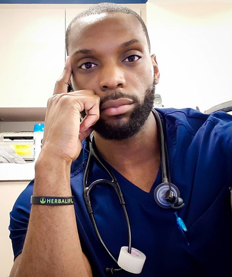 Nigerian medic working in the same hospital as his mother in the U.S. shares the highlights of working with her