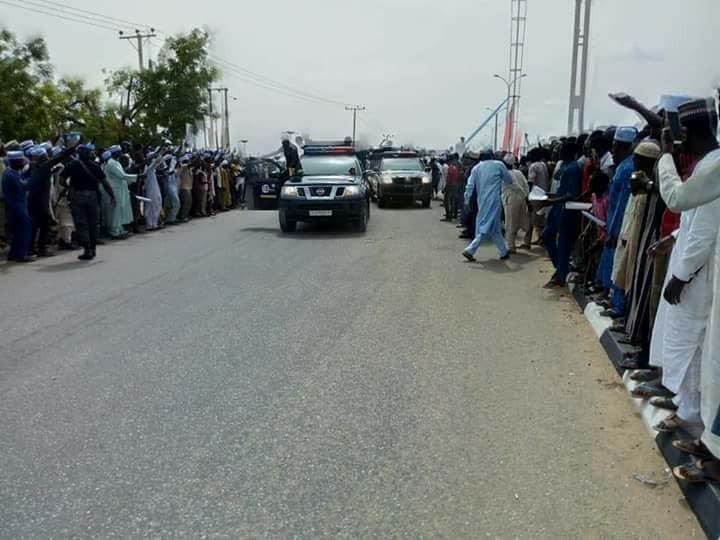 President Buhari pays sympathy visit to Katisna state(photos)