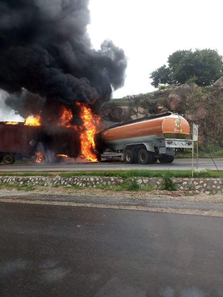 Another petrol tanker goes up in flame(photos)