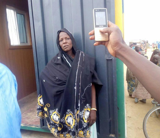 Woman apprehended while dumping her dead baby at an IDP camp in Borno(Graphic)