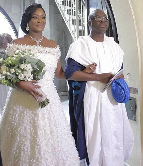 Photos from the wedding of ex-Ekiti governor, Niyi Adebayo