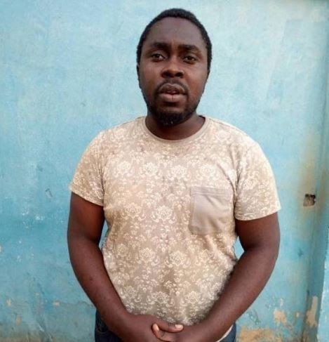 Photo: Barber arrested for defiling a 6-yr-old girl in Lagos.