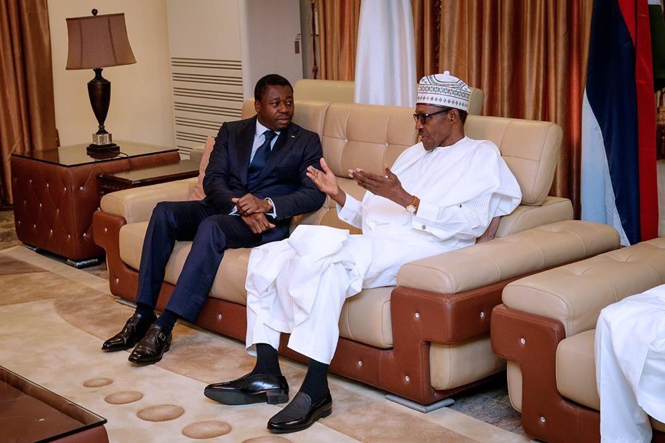 Togolese president,?Faure Gnassingbe visits President Buhari in Katsina State (Photos)