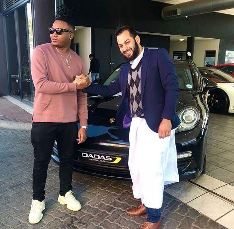 Photos: Nigerian music producer,?Kiddominant acquires brand new 45million naira Porsche Panamera