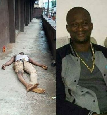 Graphic photo: Onitsha trader allegedly killed by MASSOB gang