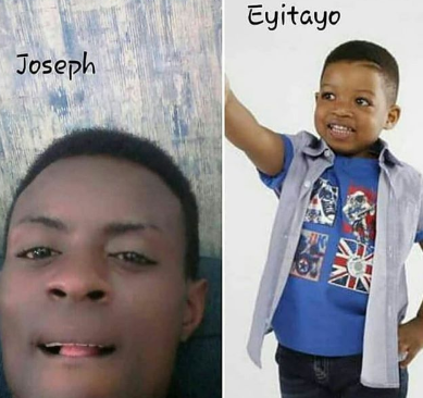 Little Eyitayo who went missing during the Otedola bridge fire incident, is yet to be found