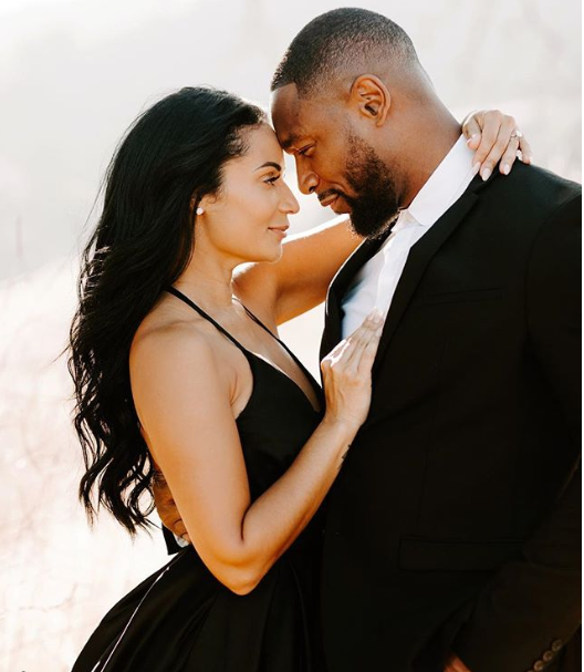 R&B singer Tank releases stunning pre-wedding photos with his beautiful bride-to-be Zena Foster