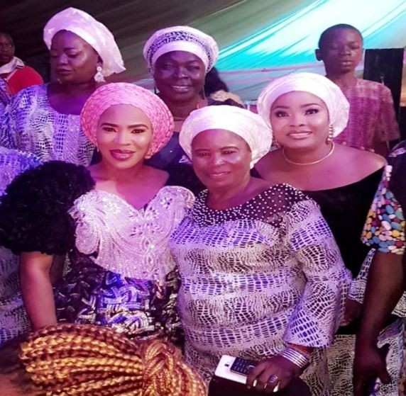 Mercy Aigbe, Laide Bakare, others attend Faithia Williams