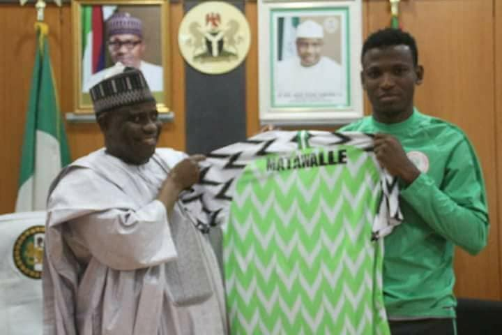Sokoto state governor gifts Super Eagles player, Abdullahi Shehu, 4-bedroom apartment