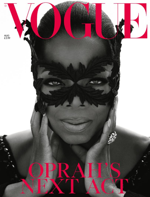 Oprah Winfrey covers British Vogue August 2018 issue (photos)