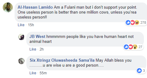University of Maiduguri graduate says he values 300 cows more than 3m useless people