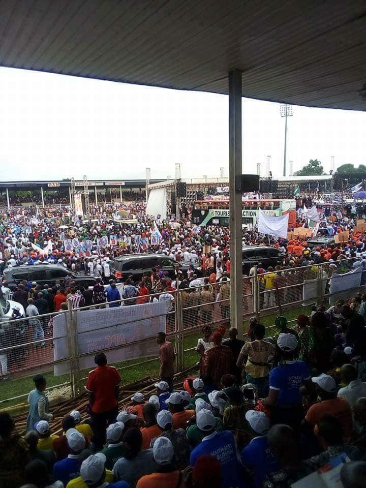 Photos from APC South East Mega rally for Buhari in Owerri
