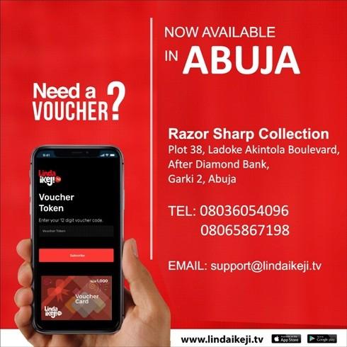 Buy LITV voucher cards in Abuja...
