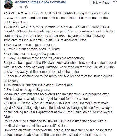 Lightning strikes Anambra State University student dead
