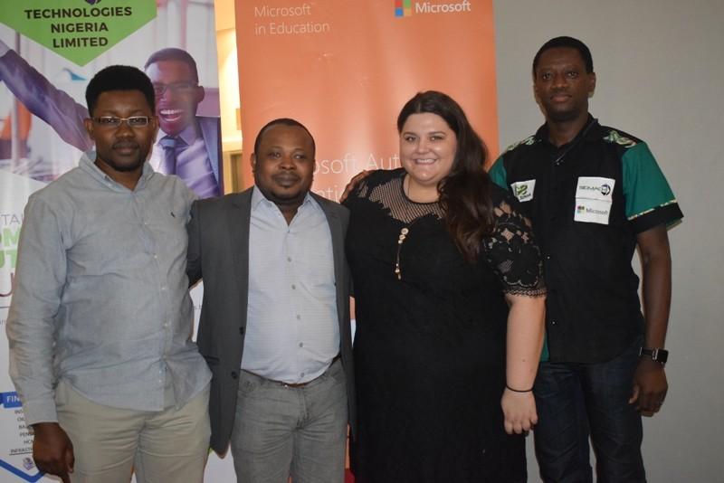 Microsoft, Sidmach reveal Imagine Academy, Smart School, SEAMs to Nigerian Schools (Photos)