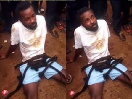Austria-based Nigerian artiste gets punished by villagers in Imo state for insulting their king