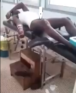 Choi! Man admitted in hospital with stubborn erection after he took herbs for sex and the girl didn
