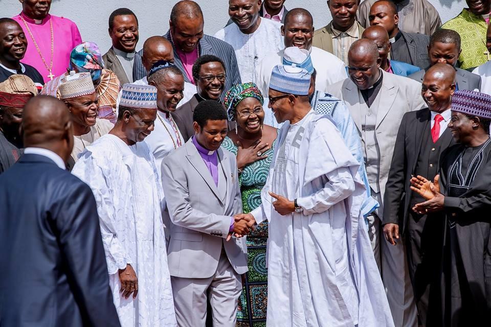 Photos from President Buhari