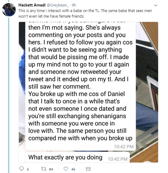 Babcock graduate accuses her ex of trying to leak her nudes but the plot twists and he releases messages where she admitted to cheating on him with multiple men