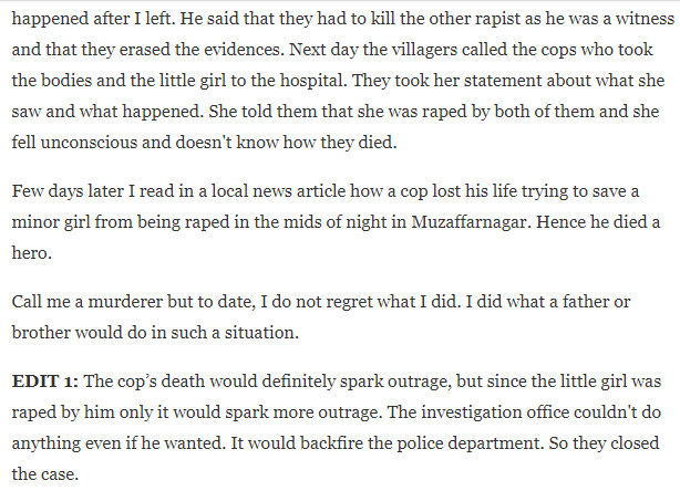 man's reason, Man's reason for killing a cop goes viral and starts a debate about whether he was right or wrong