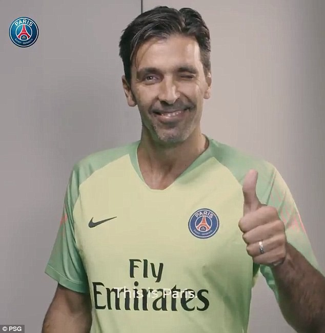 `PSG signs veteran Italian goalkeeper Gianluigi Buffon on one-year deal?