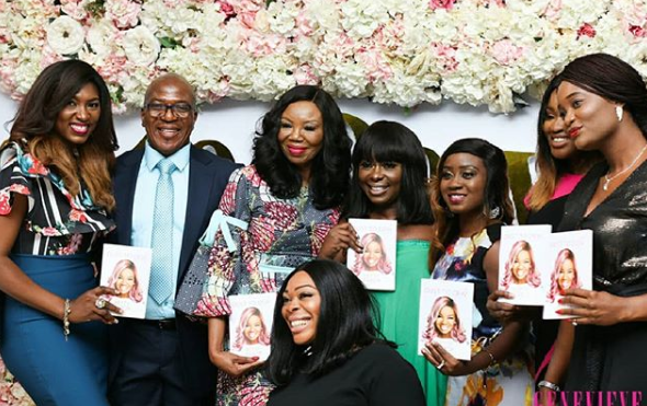 Photos from the launch of Betty Irabor
