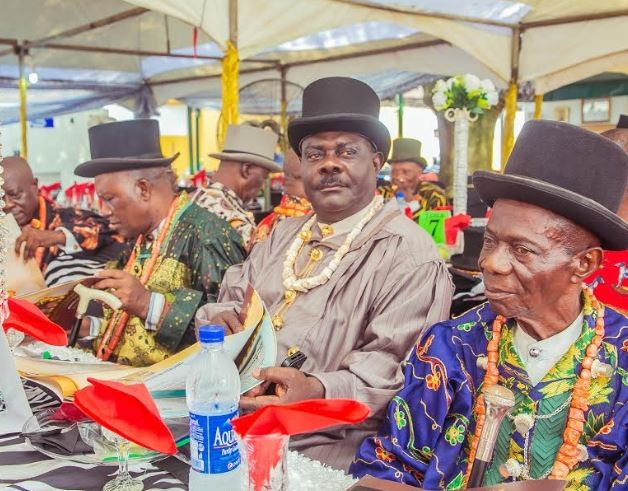 Pete Edochie, Iyanya, Harrysong others attend Ateke Tom