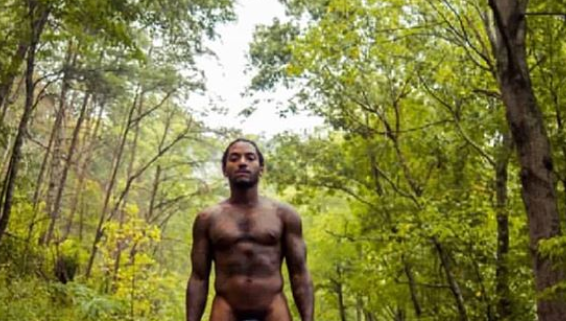 R&B singer Lloyd poses completely nude for his album cover...18+