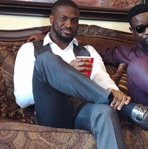 Peter Okoye gets dragged by non-fan for showing off Louis Vuitton shoes, and he claps back!