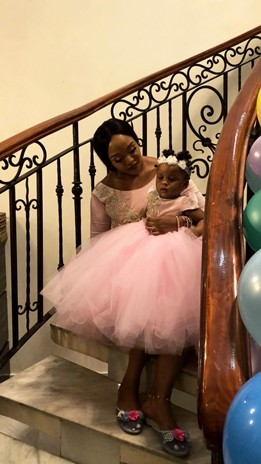 Paul Okoye & wife, Anita throw a circus themed home party for their twins