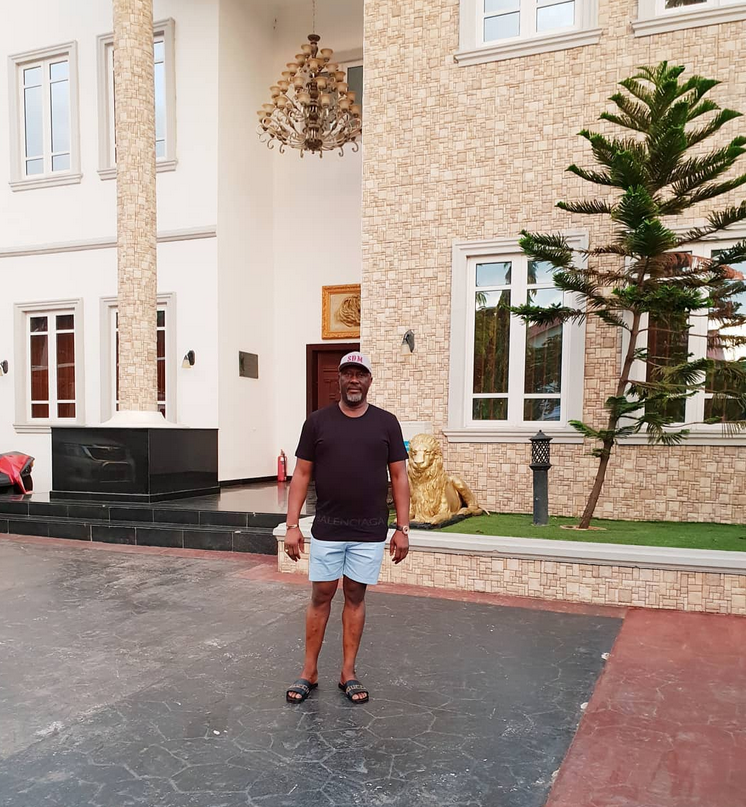 Dino Melaye shares photos on IG from his mansion as he returns to Nigeria