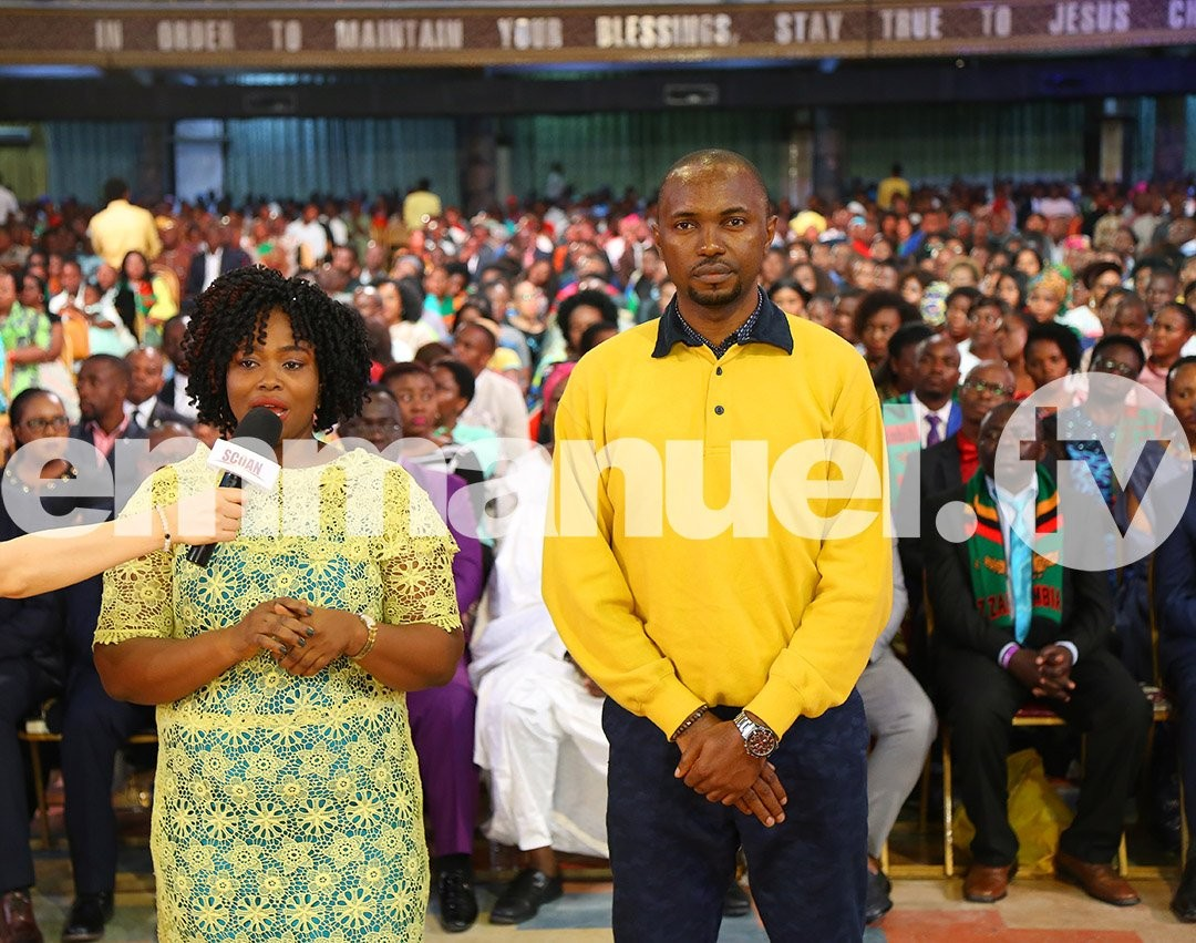 TB Joshua Casts Out Evil Spirit From Woman Addicted To Masturbation, P*o*r*nography And Bis*e*xualism