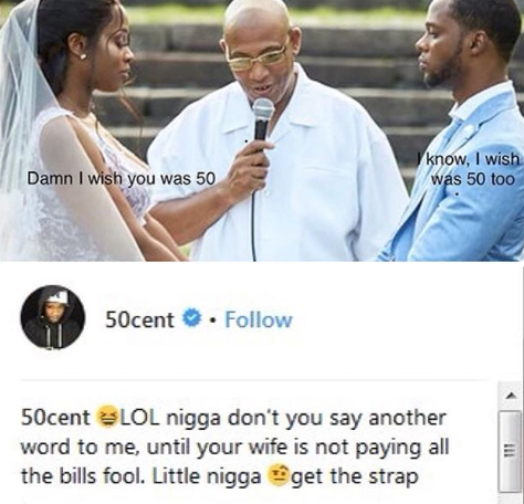 50 Cent blocks Remy Ma after her husband slammed him for commenting on her weight loss