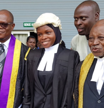Law graudate, Firdaus Amasa, finally called to bar wearing her Hijab