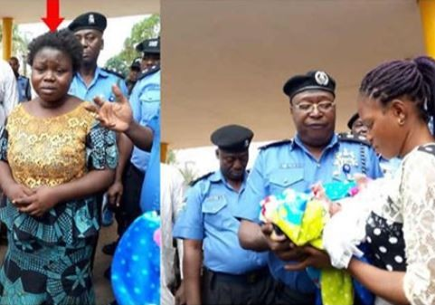 26 year old woman?steals a 3-week-old baby in Osun state after years of barrenness