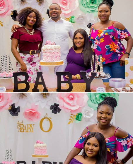 Photos from lifestyle blogger, Lizzy Omoraghon, surprise baby shower