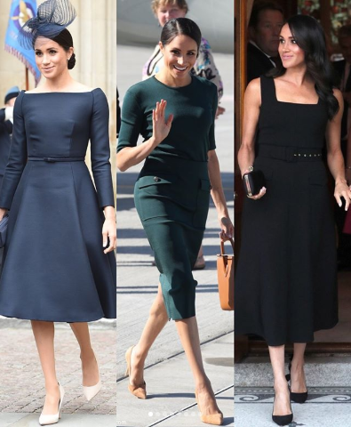 All the amazing outfits Meghan Markle wore to her official engagements yesterday