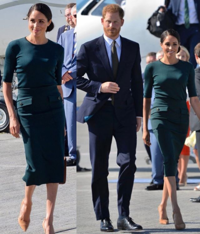 Yesterday was a really busy day for the Duke and Duchess of Sussex but Meghan Markle handled it like a pro and she looked very stylish too. Prince Harry and Meghan Markle started the day by attending the celebrations for the RAF's centenary and then they travelled to Dublin, Ireland to start a two-day official visit. Meghan's first official engagement for the day began as she joined the royal family for the RAF centenary after which they proceeded to the Buckingham Palace balcony to watch a RAF flypast. All the amazing outfits Meghan Markle wore to her official engagements yesterday All the amazing outfits Meghan Markle wore to her official engagements yesterday Afterwards, Meghan and Prince Harry flew out to Dublin and were received by top officials upon arrival for a two-day official visit. All the amazing outfits Meghan Markle wore to her official engagements yesterday All the amazing outfits Meghan Markle wore to her official engagements yesterday All the amazing outfits Meghan Markle wore to her official engagements yesterday All the amazing outfits Meghan Markle wore to her official engagements yesterday All the amazing outfits Meghan Markle wore to her official engagements yesterday All the amazing outfits Meghan Markle wore to her official engagements yesterday Finally, Harry and Meghan attended a summer garden party at the British Ambassador's Residence in Dublin. All the amazing outfits Meghan Markle wore to her official engagements yesterday All the amazing outfits Meghan Markle wore to her official engagements yesterday