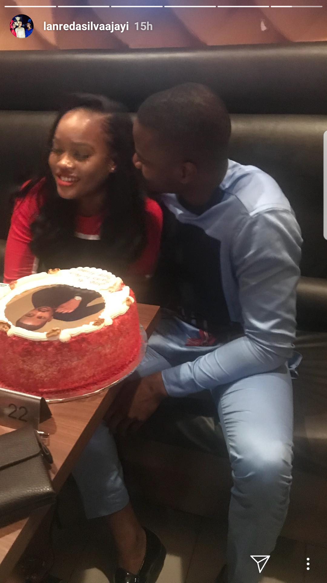 Aww! Cee-C throws a surprise birthday dinner for her
