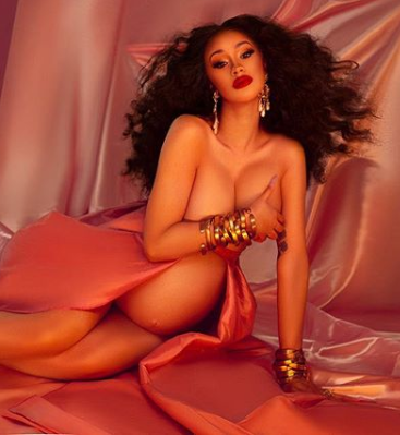 Offset Announces The Birth Of His Child By Sharing Naked Photo Of Cardi B