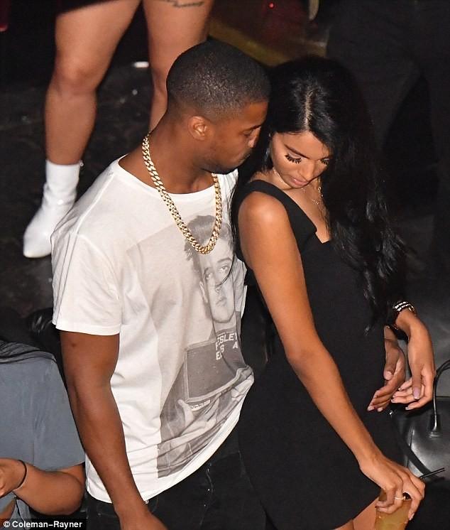 Black Panther star Michael B. Jordan parties with rumored girlfriend Ashlyn Castro at St Tropez club (Photos)